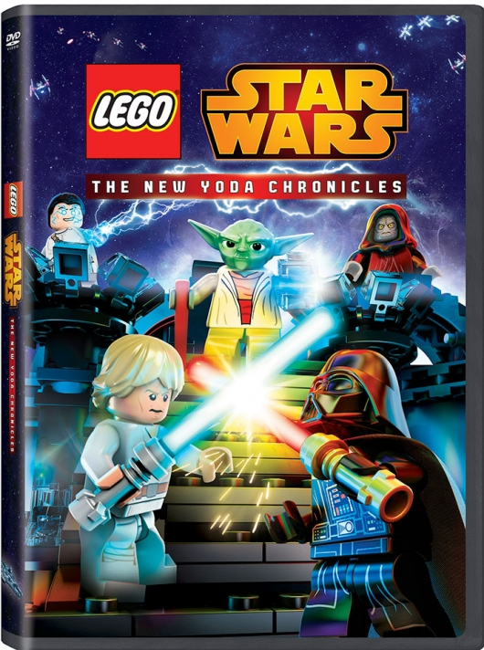 Lego Star Wars: The New Yoda Chronicles DVD cover