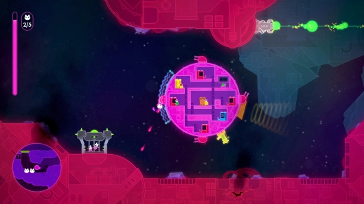 Lovers in a Dangerous Spacetime screen