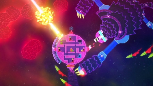Lovers in a Dangerous Spacetime screen 2