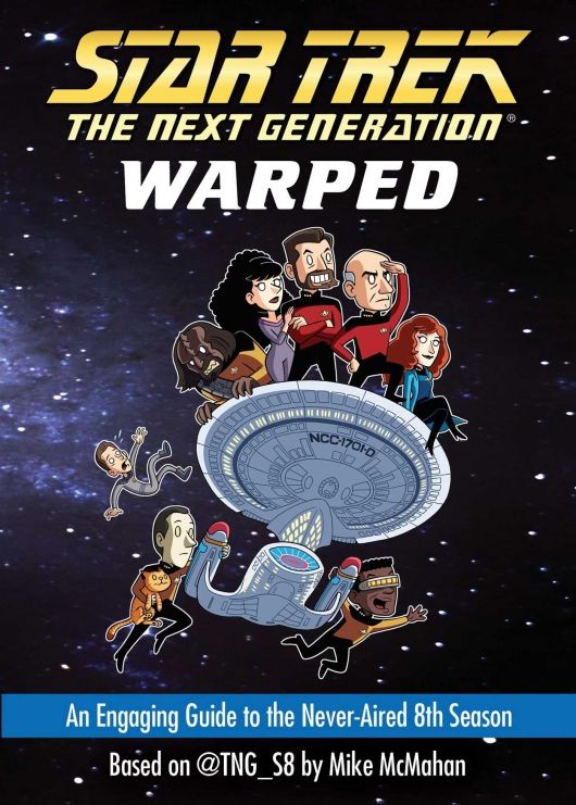 Star Trek: The Next Generation: Warped cover
