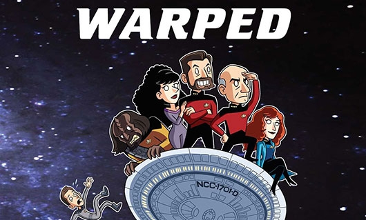 Star Trek: The Next Generation: Warped banner