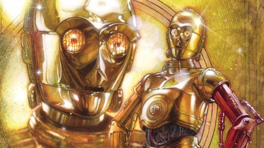 Star Wars C-3PO one-shot comic book cover cropped