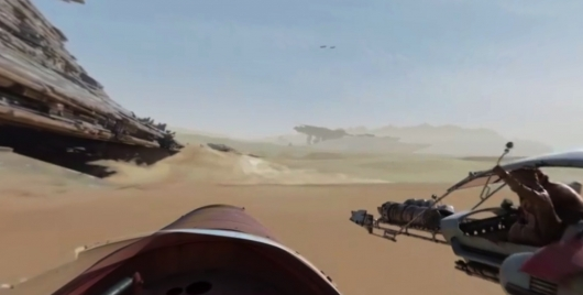Star Wars: The Force Awakens Facebook 360 Video