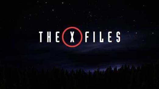 The X-Files TV miniseries logo
