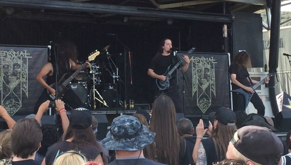 Abysmal Dawn at Knotfest 2015