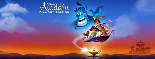 Aladdin Diamond Edition Blu-ray banner