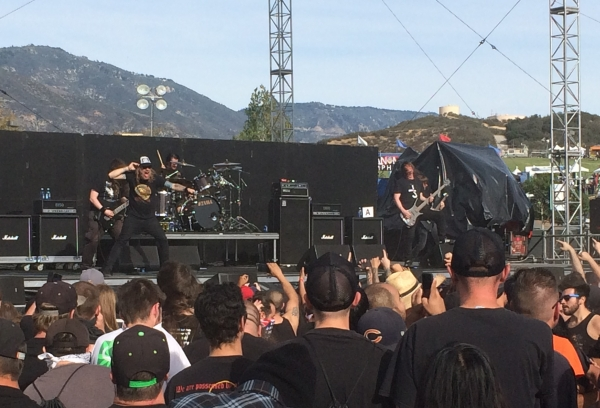 At The Gates at Knotfest 2015