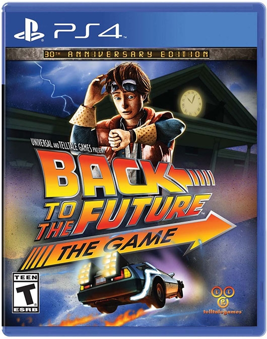 Back to the Future: The Game 30th Anniversary Edition cover