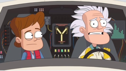 Back to the Future II Animated Short
