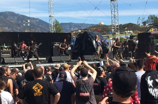 Battlecross at Knotfest 2015