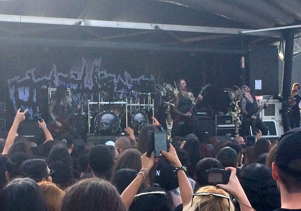 Belphegor at Knotfest 2015