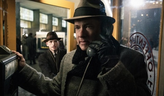 Bridge of Spies, directed by Steven Spielberg and starring Tom Hanks