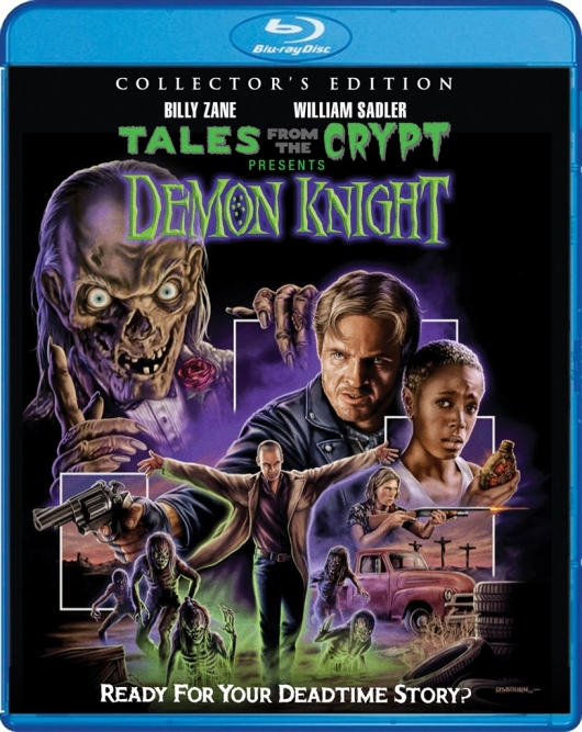 Tales from the Crypt Presents: Demon Knight Blu-ray Cover Art