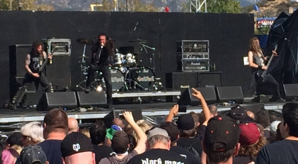 Goatwhore at Knotfest 2015