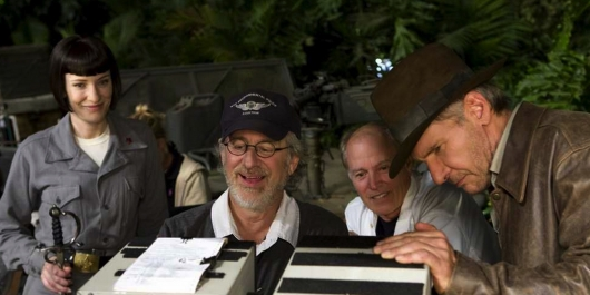 Indiana Jones Crystal Skull Steven Spielberg Harrison Ford