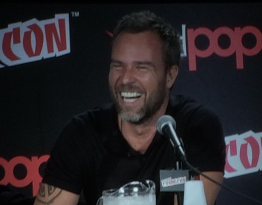 NYCC 2015 Teen Wolf JR Bourne