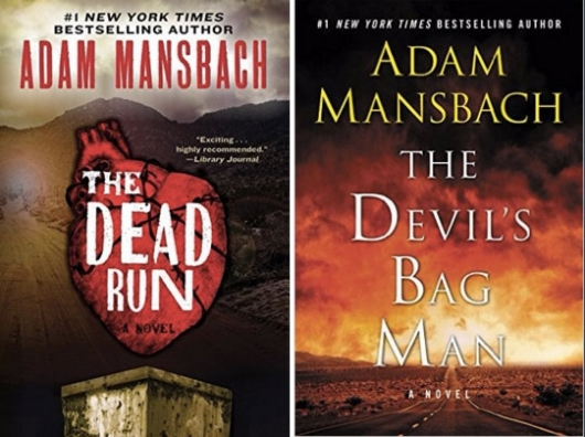 The Dead Run, The Devil's Bag Man Jess Galvan Series by Adam Mansbach