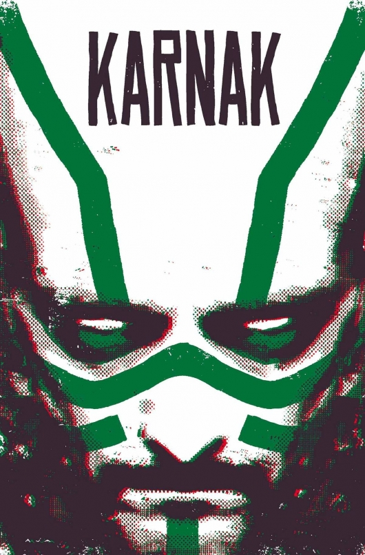 Karnak #1 cover Marvel Comics