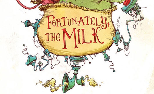Neil Gaiman Fortunately, The Milk header