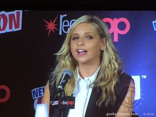 NYCC 2015: Star Wars Rebels, Sarah Michelle Gellar