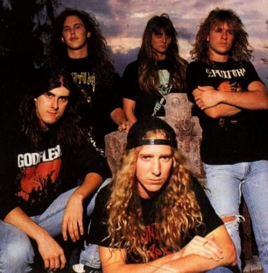 Obituary Band Photo 1990
