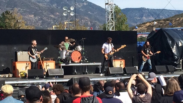 Red Fang at Knotfest 2015