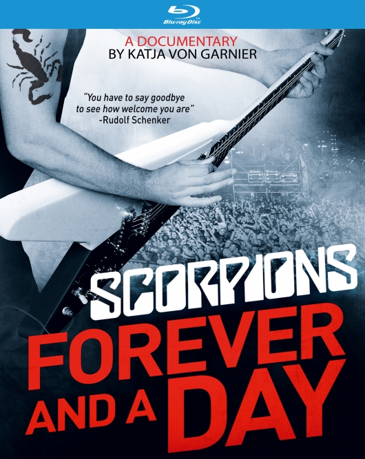 Scorpions Forever and a Day Documentary Blu-ray cover