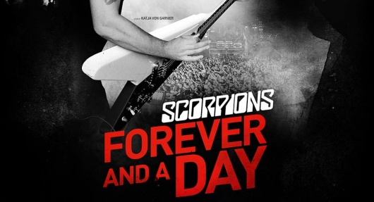 Scorpions Forever and a Day Documentary banner