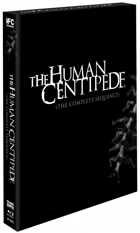 The Human Centipede (The Complete Sequence) Blu-ray Cover