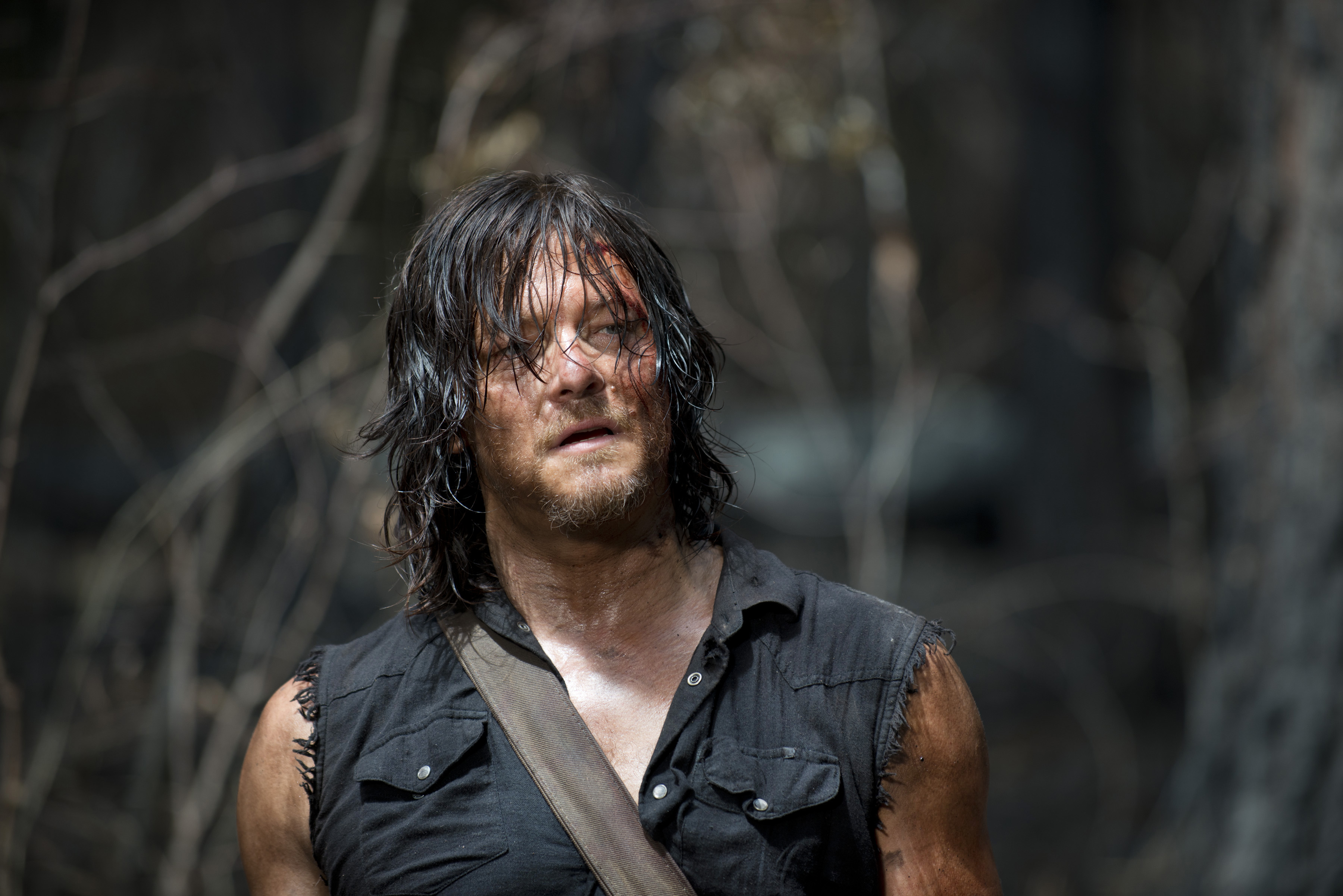 Norman reedus as daryl dixon the walking dead season 6 episode 6 norman reedus as daryl dixon the walking dead voltagebd Gallery