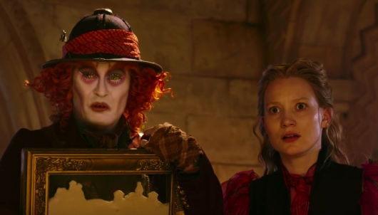 Alice Through The Looking Glass trailer header