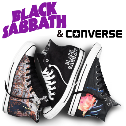 Converse Black Sabbath Sneakers