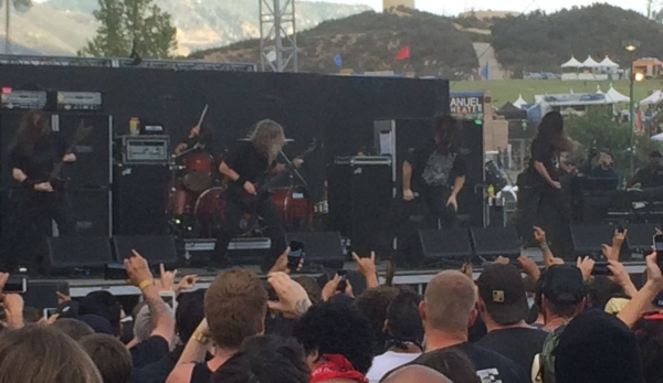 Cannibal Corpse Knotfest 2015