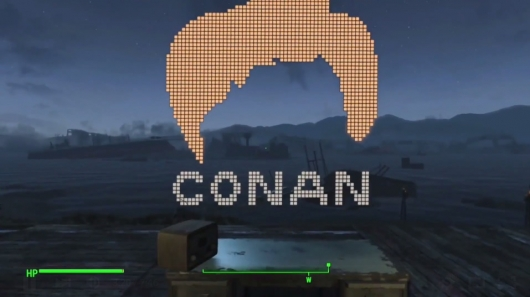 Conan O'Brien Plays Fallout 4 For Clueless Gamer