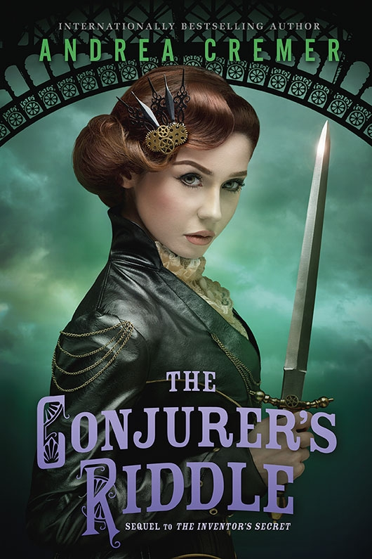 The Conjurer's Riddle by Andrea Cremer cover