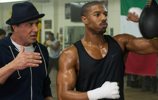 Creed starring Michael B. Jordan and Sylvester Stallone