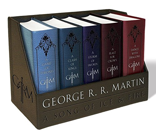 George R.R. Martin's A Game of Thrones Leather-Cloth Boxed Set (Song of Ice and Fire Series)