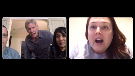 Harrison Ford Surprises Star Wars Fans