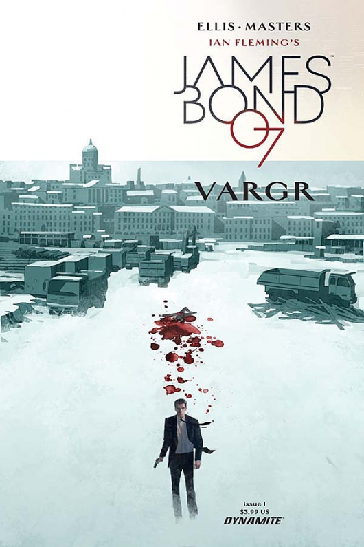 James Bond #1 cover A by Dom Reardon Dynamite Comics Warren Ellis