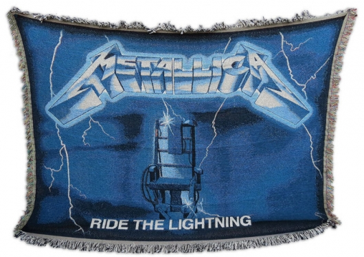 Metallica Ride The Lightning Blanket