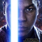 Star Wars: The Force Awakens Finn character poster