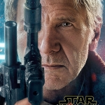 Star Wars: The Force Awakens Han Solo character poster