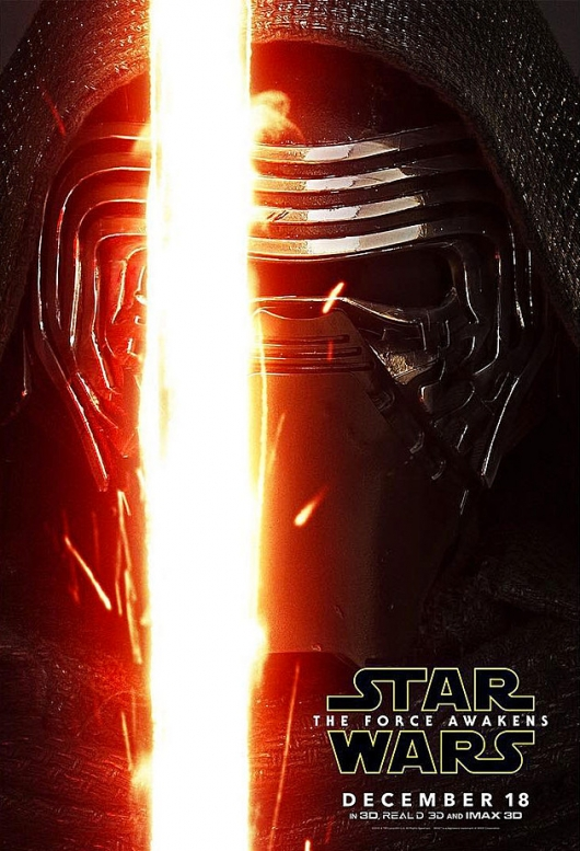 Star Wars: The Force Awakens Kylo Ren character poster