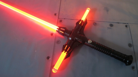 Star Wars The Force Awakens Cross Lightsabers