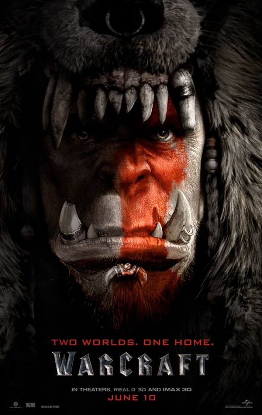 Warcraft movie Durotan. Leader of the Frostwolf Clan Toby Kebbell