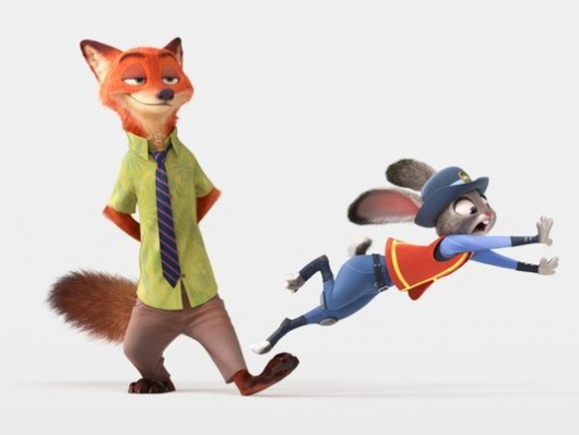 Zootopia's Nick Wilde and Judy Hopps
