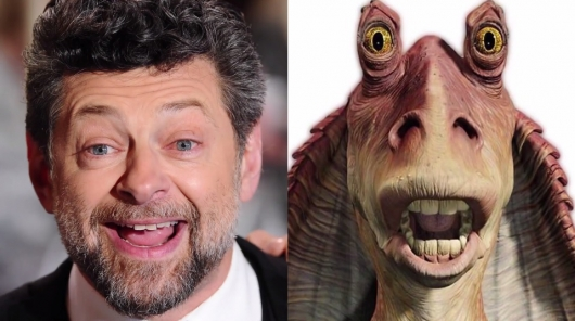 Andy Serkis Jar Jar Binks