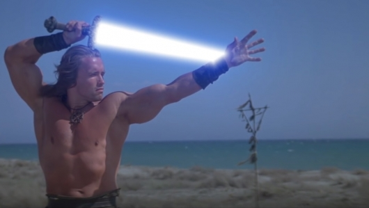 Conan the Barbarian Star Wars Lightsaber