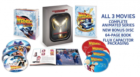 Back to the Future: The Complete Adventures Blu-ray Edition