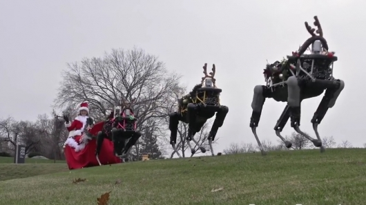 Boston Dynamics Robot Reindeer